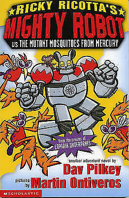 Mighty Robot vs the Mutant Mosquitoes from Mercury (Ricky Ricotta),Excellent Con
