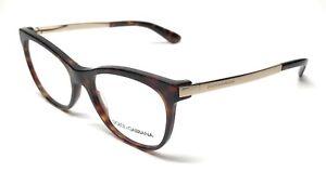 6d648707f7e12 dolce   gabbana dg 3234 502 gold havana authentic eyeglasses 52-17