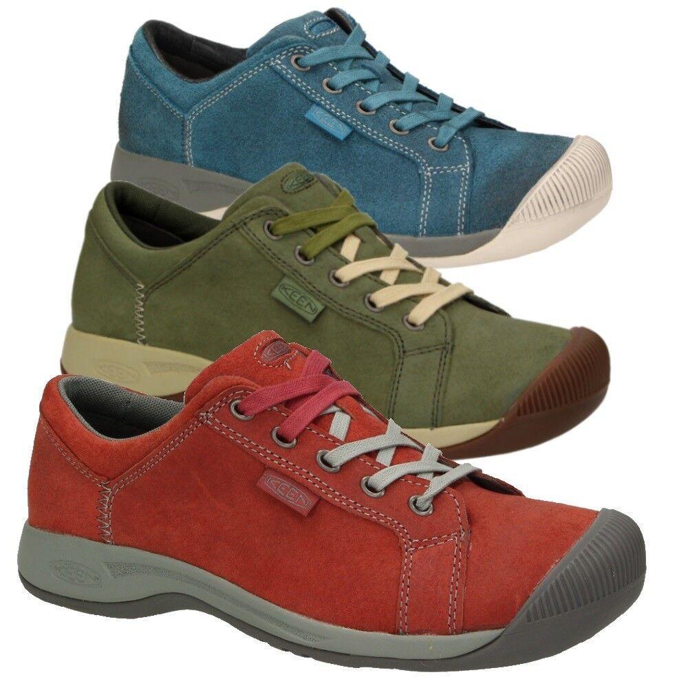 Keen Viajes Encaje Zapatos Mujer Mujer Mujer Zapato bajo Ocio Cuero Cordones confort  protección post-venta