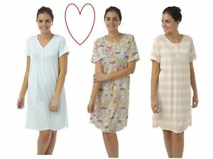 Womens-ladies-nightie-plus-size-nightdress-lightweight