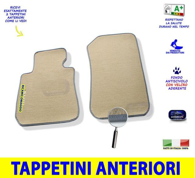 Tappetini con ricami colorati E90 Tappeti AUTO su misura