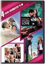 4 Film Favorite: Modern Romances Collection (DVD, 2015, 4-Disc Set)