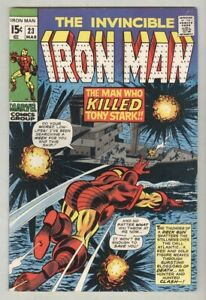 Iron-Man-23-March-1970-VG-FN