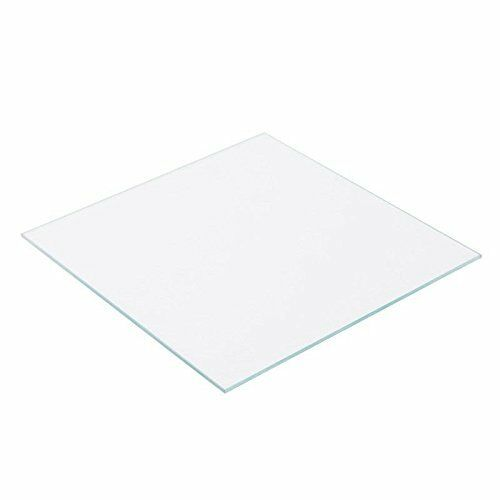 3D Printer Borosilicate Glass Plate//Bed 130mm x 130mm x 3mm for Mini 3D Printer