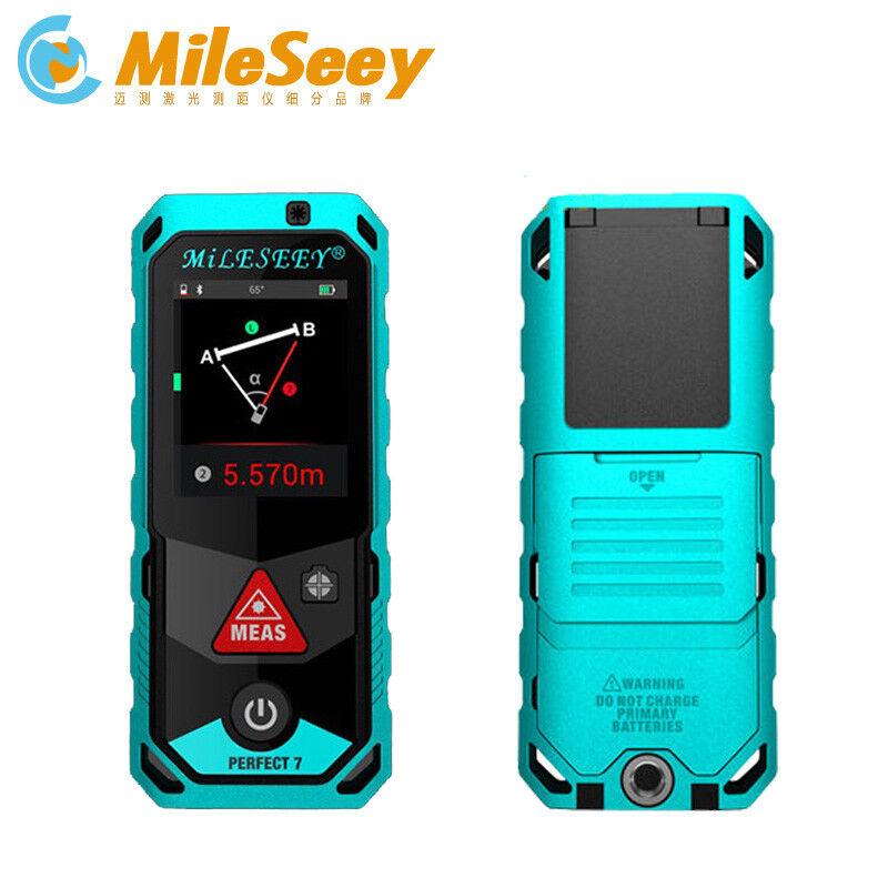 Mileseey P7 150M Laser Entfernungsmesser Blautooth Touch Screen Meter Mit Kamera