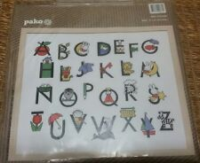 Pako MIFFY / DICK BRUNA ABC Alphabet Cross Stitch Kit NEW Embroidery Baby's Room