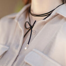 New Arrival Korean Style Women Lady Pearl Bow DIY Necklace Beautiful Choker 1pcs