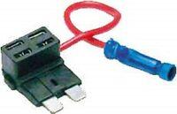 Atc Ato Blade Add A Fuse Tap Circuit Block Panel Plug Holder Wire Usa (1 Pc)
