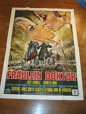 MANIFESTO 4f,Fraulein Doktor,1969,A. Lattuada,Suzy Kendall,More,Green,Capucine: