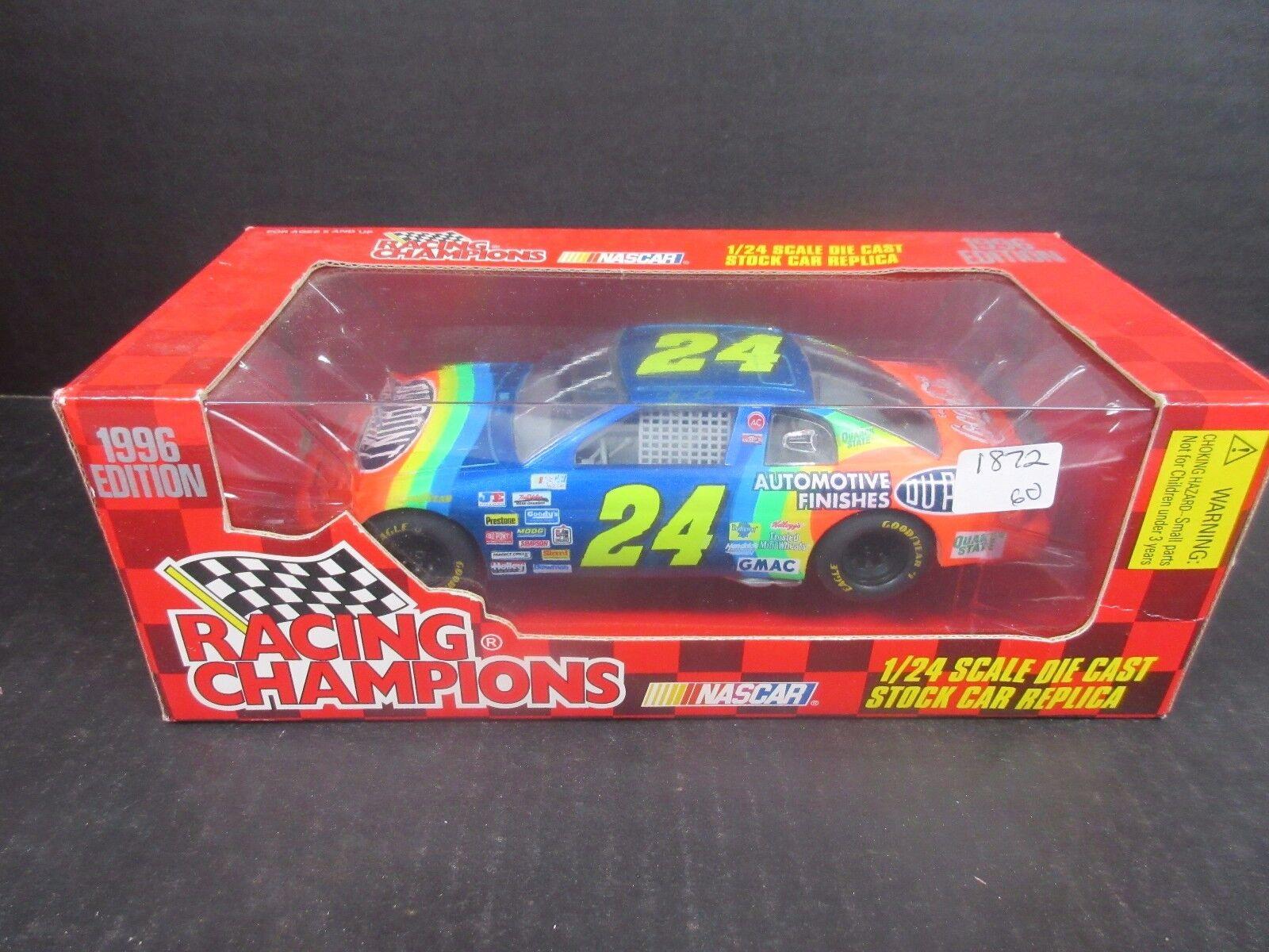 1996 Racing Champions  Dupont Jeff Gordon 1 24th  race car