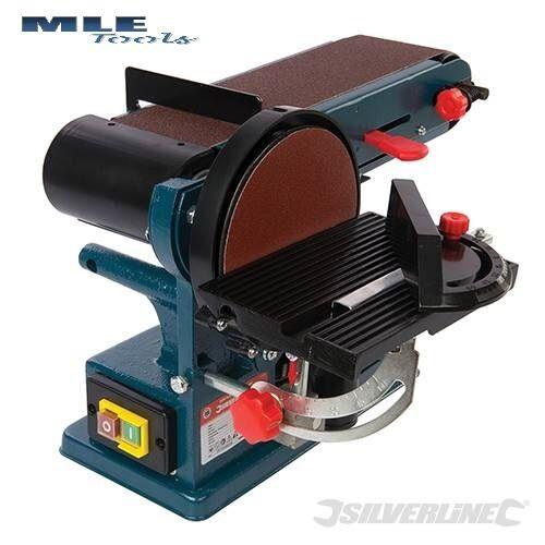 #972660 Silverline Silverstorm 350W Bench Belt /& Disc Sander 390mm woodwork