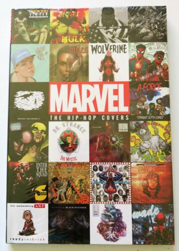 The Hip-Hop Covers Hardcover Marvel Graphic Novel Comic Book