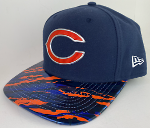 Chicago-Bears-New-Era-9FIFTY-NFL-Original-Fit-Snap-Back-Baseball-Cap-Hat-Adjust