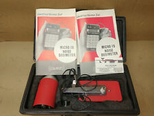 Quest Micro 15 Noise Dosimeter With Case Amp Ca 12b Sound Calibrator
