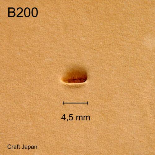 B200 Punzierstempel Lederstempel Craft Japan Leather Stamp Punziereisen