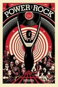 Shepard-Fairey-The-Power-of-Rock-Poster-Roll-Hall-of-Fame-HOF-2017-Art-Print