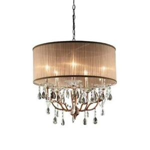 5-Light-Copper-finish-Rosie-Crystal-Ceiling-Lamp