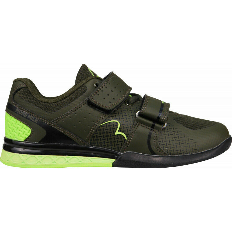 Mens More Mile Super Lift 3 Crossfit   Weightlifting shoes - Green  lowest whole network