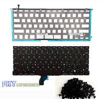 Us Keyboard W Backlight Backlit Macbook Pro 13 A1502 2013 Retina (screws)