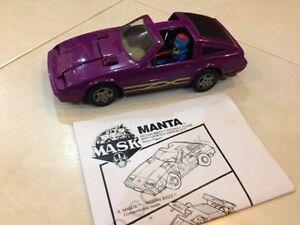Vintage M.A.S.K. Manta (Loose 100% complete)