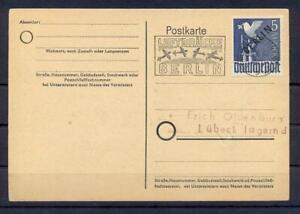 Berlin-20-Schwarzaufdruck-5-Mark-gestempelt-FB-HD-Schlegel-einwandfrei-zr92