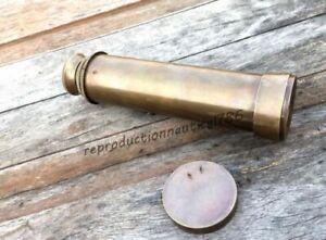 "Maritime Maritime Telescopes 12"" Spyglass Nautical Marine Brass Telescope Antique Finish Gift Item Special Summer Sale"
