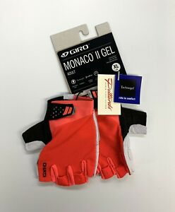 Giro Monaco II Gel Cycling Gloves Size XL New