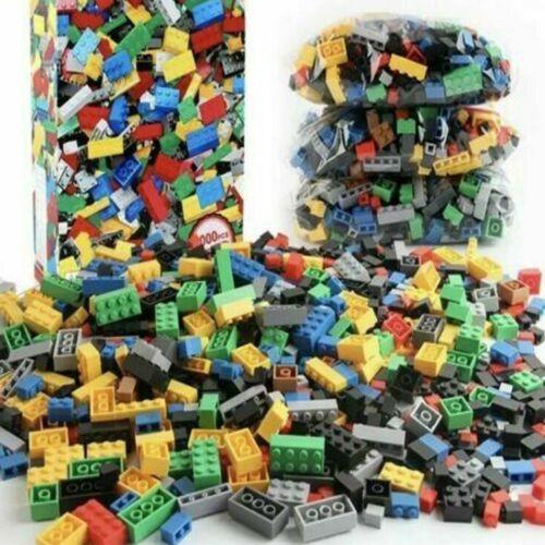 1000 Pezzi Mattoni Blocchi compatibili con LEGO Mattone Costruzione sostituire