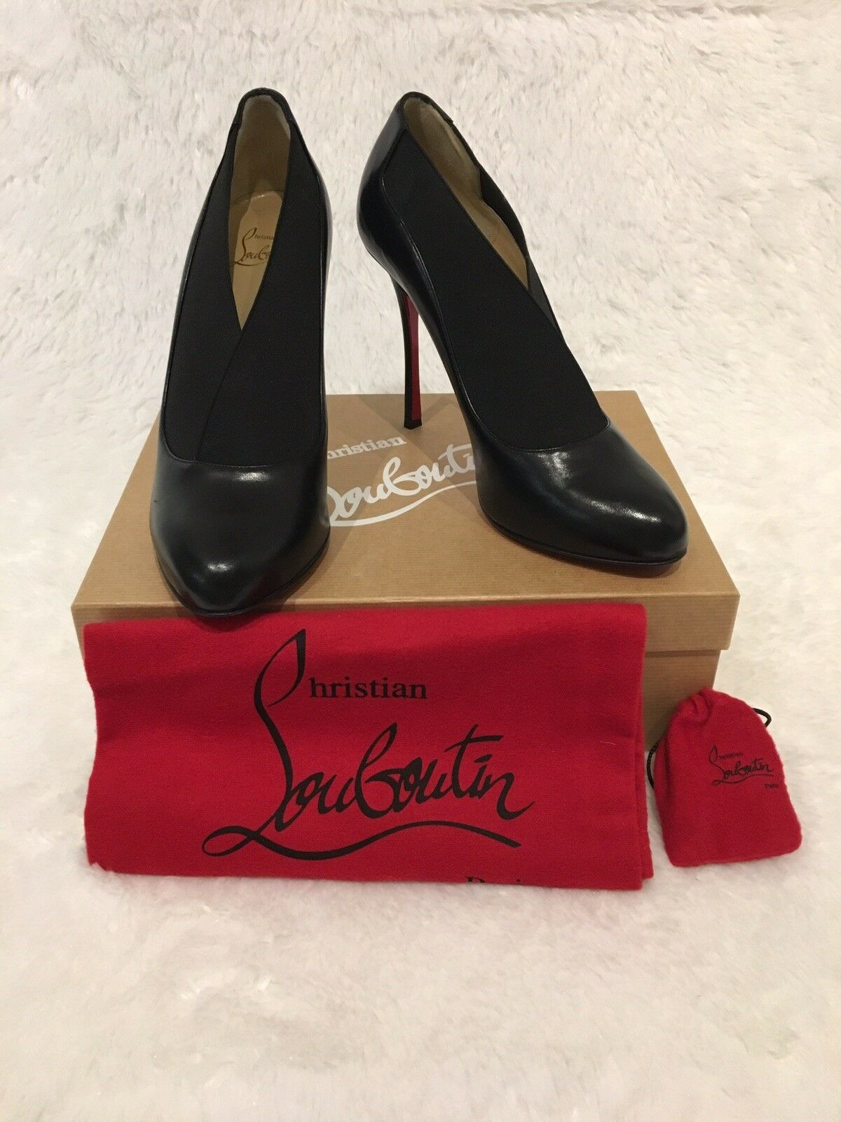 Christian Louboutin Toot Cougreene 100 Nappy Shiny 40.5 40.5 40.5  845 898375