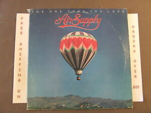 AIR-SUPPLY-THE-ONE-THAT-YOU-LOVE-LP-W-LYRIC-SLEEVE-MERCH-FORM-AL-9551