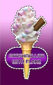 Ice Cream Van Autocollant Guimauve Flake Cône #49-afficher Le Titre D'origine Ulj0cza6-08003440-793510837