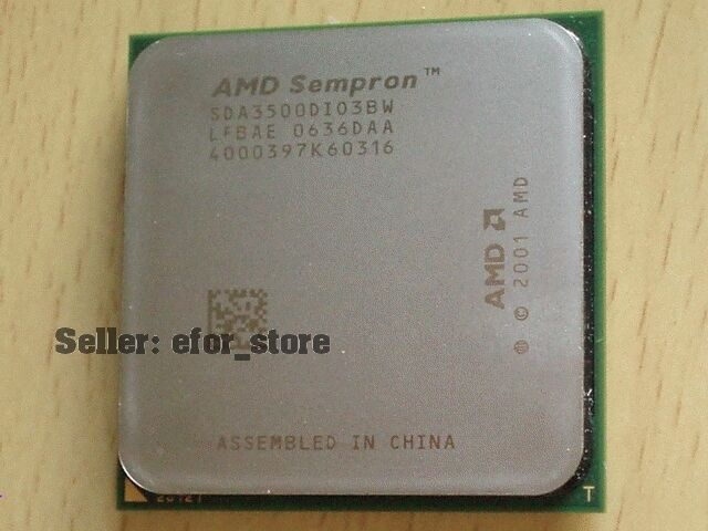 AMD Sempron 64 3500+ Socket 939 CPU - SDA3500DIO3BW BRAND NEW