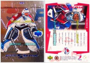 UPPER-DECK-1999-PATRICK-ROY-NHL-COLORADO-AVALANCHE-GOALIE-SIXTH-SENSE-MINT-SS2