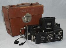 Voigtlander Stereflektoskop 45x107mm Stereo Camera w/ Heliar f4.5 60mm Lenses