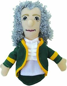 UPG Magnetic Personality Finger Puppet Magnet - Voltaire