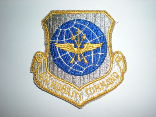 COLOR USAF AIR MOBILITY COMMAND AMC PATCH