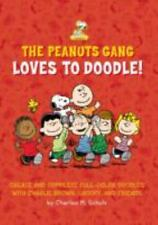 The Peanuts Gang Loves to Doodle: Create and Complete Full-Color Pictures with C