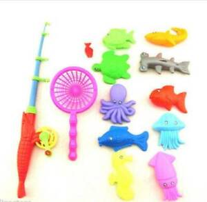 Funny-Fishing-Rod-Magnetic-Fish-Net-Game-Set-Educational-Toy-Kids-Baby-Bath-Time