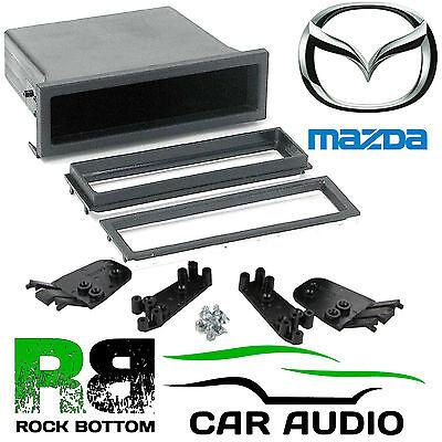 MAZDA Premacy 1999 On Car Stereo Radio Universal DIN E Fascia Facia Pocket Tray