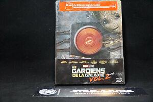 Blu-ray-Steelbook-Marvel-Gardiens-de-la-Galaxie-2-Fnac-Neuf-sous-blister