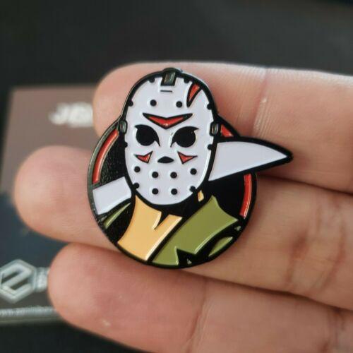 New Friday The 13th Enamel Pin Jason Voornees