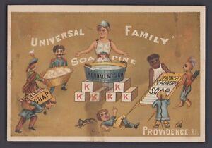 Werbekarte-Victorian-Trade-Card-SOAPINE-Soap-Kendall-1827-Providence-RI