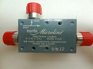 Image of NARDA-DIRECTIONAL-COUPLER-MODEL-NO-23130 by Sunrise Surplus