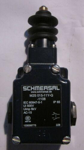 1108 Interrupteur NEUF Schmersal limites non strictes Position Commutateur m2s 015-11y-q