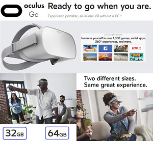 Oculus Go 3010010201 Standalone Virtual Reality Headset - White