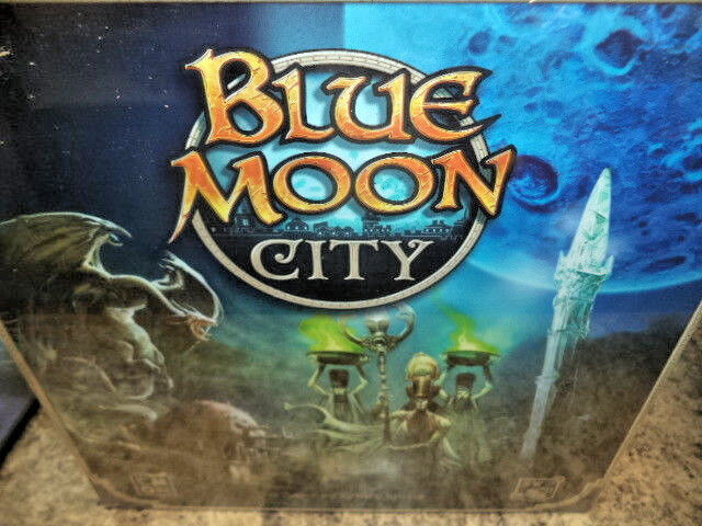 Blau Moon City - Cool Mini or Not Games CMON Board Game New