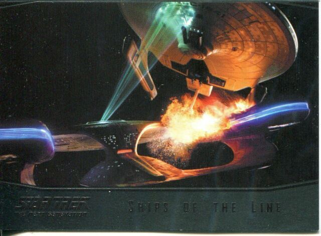 Star Trek 50th Anniversary 2017 Ships Of The Line Chase Card SL24 Deep Space 9