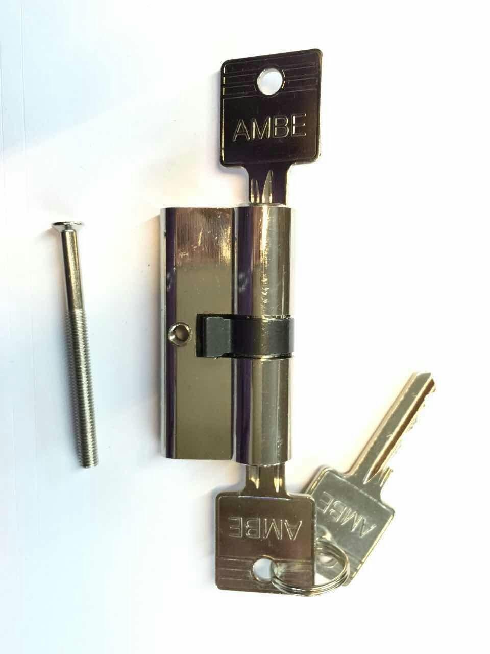 60mm zylinderschloss schlie zylinder profilzylinder t rschloss inkl 3 schl ssel ebay. Black Bedroom Furniture Sets. Home Design Ideas
