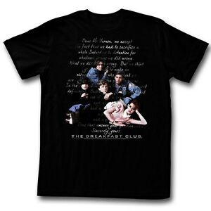 The Breakfast Club Tshirt The Essay Black Tshirt  Ebay Image Is Loading Thebreakfastclubtshirttheessayblack