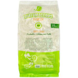 Diatomaceous Earth Food Grade Fresh Water Type 10lb Bag Codex De 0 5 Ebay